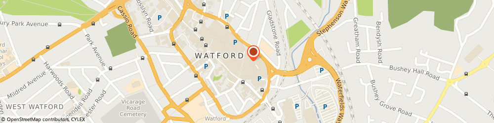 Route/map/directions to Phase Eight Fashion Watford, WD17 2UB Watford, Unit 10, The Harlequin Centre