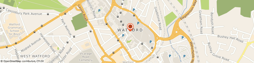 Route/map/directions to Weston Opticians Ltd, WD17 2BP Watford, 82A High Street