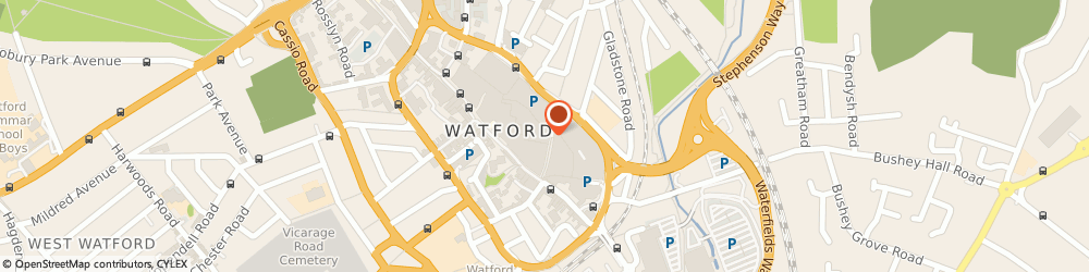 Route/map/directions to JD Sports, WD17 2TA Watford, Unit 15 & 16 Lower Level, The Harlequin