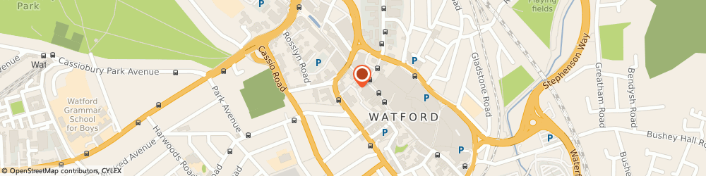 Route/map/directions to The Occupational Psychology Centre, WD17 2AE Watford, 1A WELLSTONES