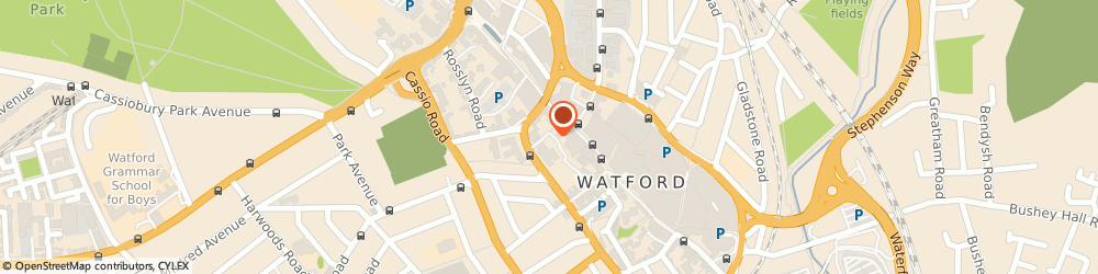 Route/map/directions to Warrant Developments Limited, WD17 2AE Watford, ONE WELLSTONES