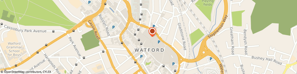 Route/map/directions to New Look, WD17 2AU Watford, 312 The Harlequin