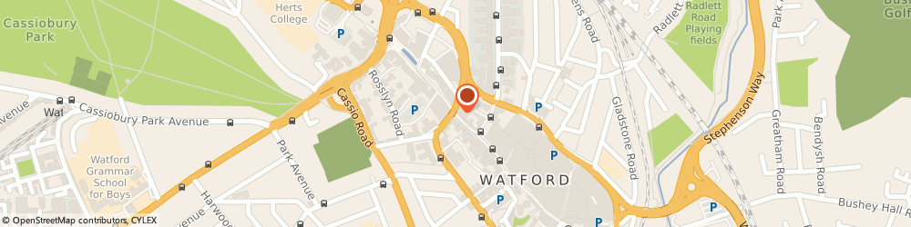 Route/map/directions to Houlton Resources Limited, WD17 1NA Watford, 153 The Parade High Street