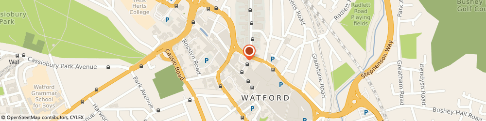 Route/map/directions to E M Ball & Co, WD17 1JR Watford, 17 Clarendon Road