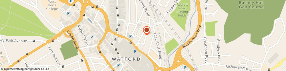 Route/map/directions to Simbles Of Watford, WD17 2LD Watford, 76, QUEENS ROAD