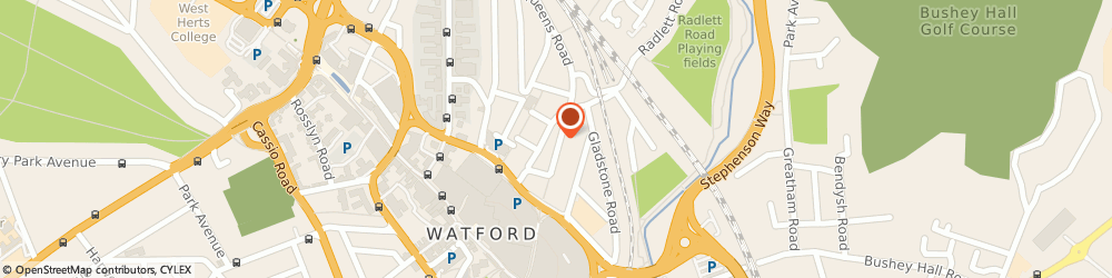 Route/map/directions to B E INTEGRATED SYSTEMS LTD, WD17 2LA Watford, 78 Queens Road