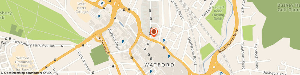 Route/map/directions to Gopher I.T. Support, WD17 4EL Watford, 54 Clarendon Road