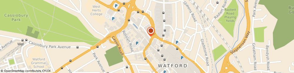 Route/map/directions to Dipas Ltd, Best-one, WD17 1LJ Watford, 65 The Parade