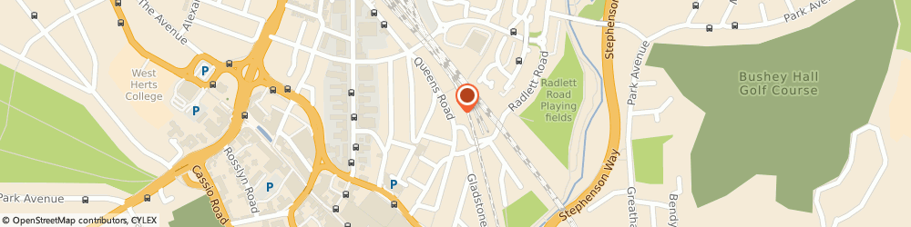Route/map/directions to Acuity, WD17 2QP Watford, Oak Yard, Queens Rd