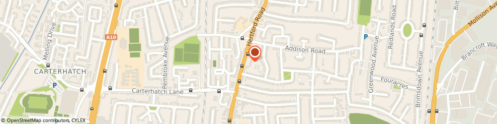 Route/map/directions to Allied Claims, EN3 5JH Enfield, Hertford Road