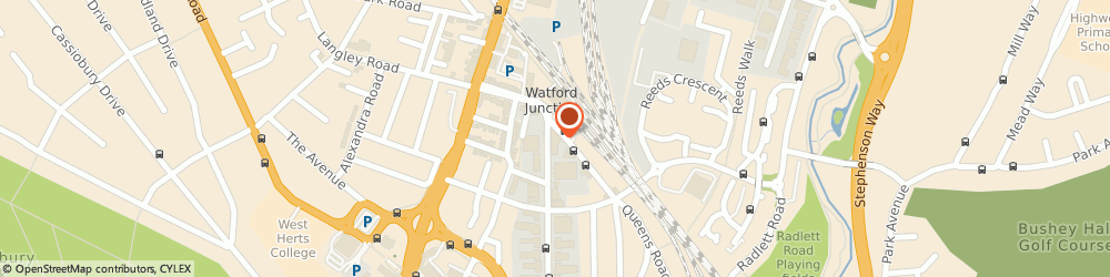 Route/map/directions to Interimity Limited, WD17 1DA Watford, 64 CLARENDON ROAD