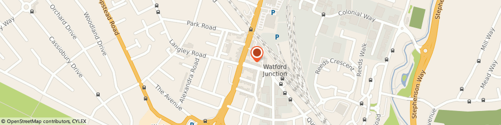 Route/map/directions to Collins Solicitors, WD17 1AR Watford, 20 Station Road