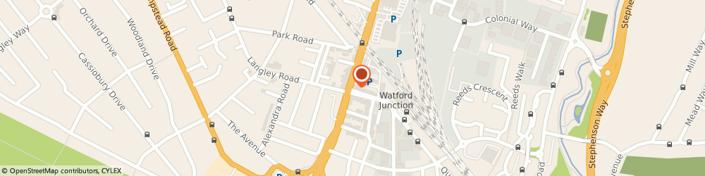 Route/map/directions to Chess Structural Consultants, WD17 1JU Watford, 28 Station Road