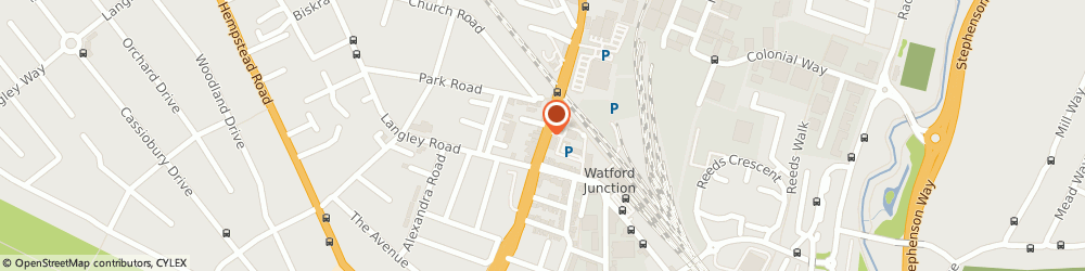 Route/map/directions to Richer Sounds PLC, WD17 1RD Watford, Shops, 117C St. Albans Rd