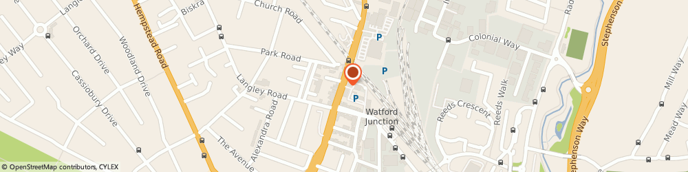 Route/map/directions to DIGITAL BRUNCH LTD, WD17 1DL Watford, 80 St Albans Road