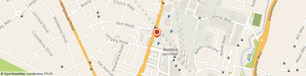 Route/map/directions to Lenton Engineering Limited, WD17 1RB Watford, St Albans Road