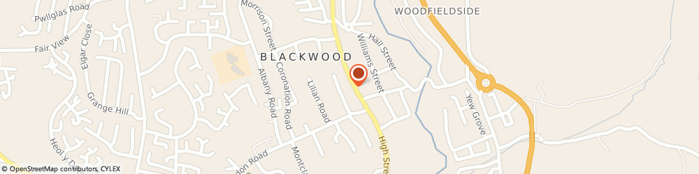 Route/map/directions to wilko, NP12 1AH Blackwood, 152 - 158 High Street
