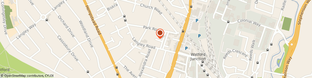 Route/map/directions to Nascot Creative, WD17 4QT Watford, 11 Nascot Place