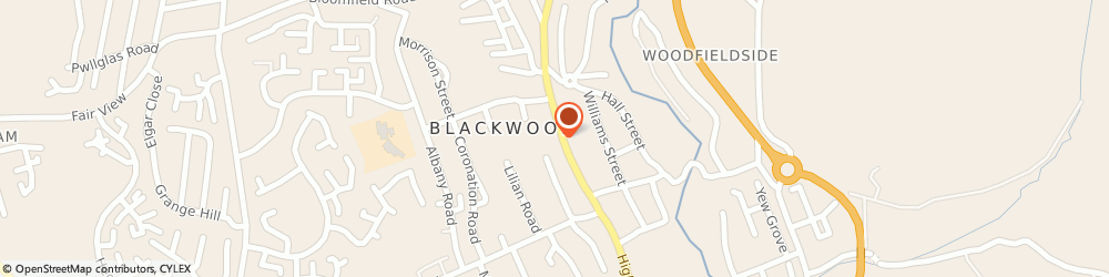 Route/map/directions to The Gwyn George Partnership Solicitors, NP12 1AF Blackwood, 130 High St
