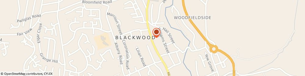 Route/map/directions to New Look, NP12 1AB Blackwood, 147/149 High Street