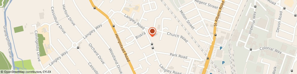 Route/map/directions to Paradise Seafood Ltd, WD17 4PJ Watford, 94 LANGLEY ROAD