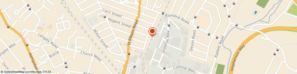 Route/map/directions to Camille & Renee Company Ltd, WD24 4DE Watford, 2 BRADSHAW ROAD