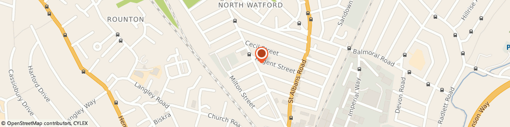 Route/map/directions to J.H.Motorcycles, WD24 5EH Watford, 86 Leavesden Rd
