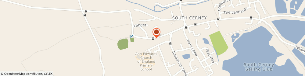 Route/map/directions to South Cerney Aerials, GL7 5UP South Cerney, High Street