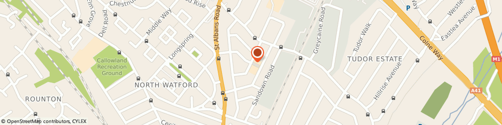 Route/map/directions to Packtrans Ltd, WD24 7BP Watford, 54 Parkgate Rd