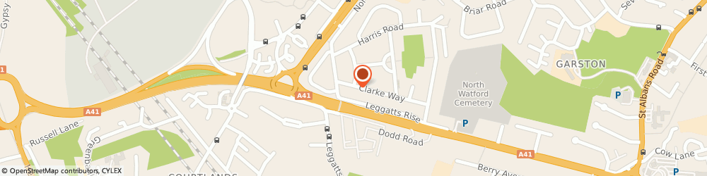 Route/map/directions to Extreme Systems (Uk) Ltd, WD25 0BS Watford, 79 Clarke Way