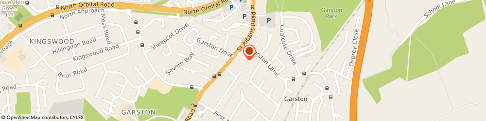 Route/map/directions to Automotive Design Consultants (Uk) Limited, WD25 9FQ Watford, 9 WILCON WAY