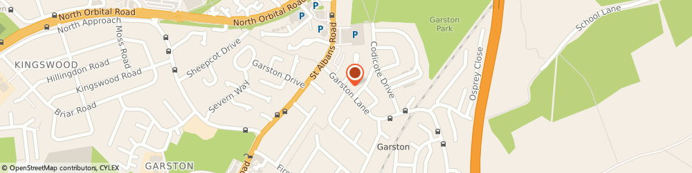 Route/map/directions to Avenues Veterinary Clinic, WD25 9QJ Watford, 22 Garston Lane