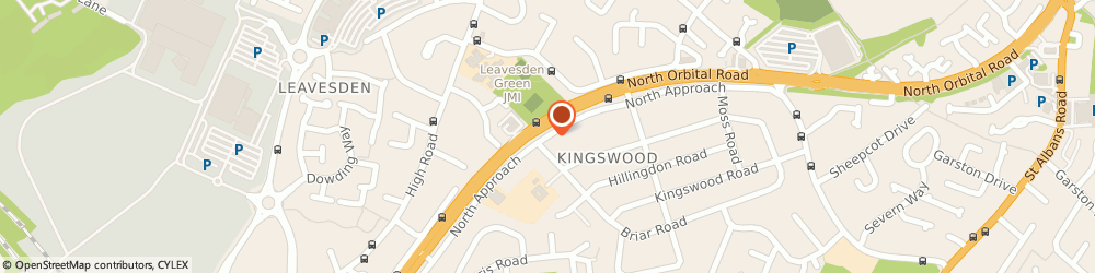 Route/map/directions to F B Builders London Ltd, WD25 0EP Watford, 169 North Approach