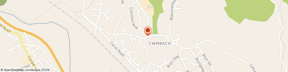 Route/map/directions to Pant Surgery, CF44 0HL Aberdare, 57 Aberdare Road