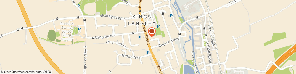 Route/map/directions to Junction 20, WD4 9HU Kings Langley, 51, HIGH STREET