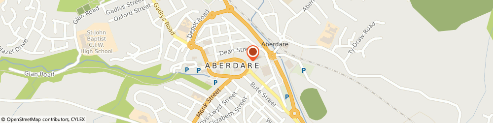 Route/map/directions to Travel House Aberdare, CF44 7LB Aberdare, 19 Victoria Square