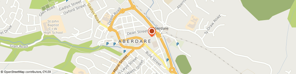 Route/map/directions to Boots Aberdare Commercial Street, CF44 7RW Aberdare, 11 Commercial Street