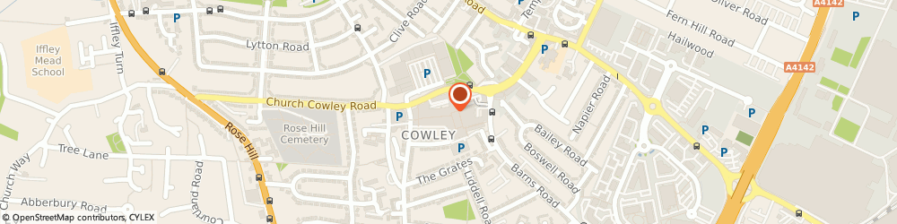 Route/map/directions to Timpson, OX4 3XH Oxford, 129 Pound Way