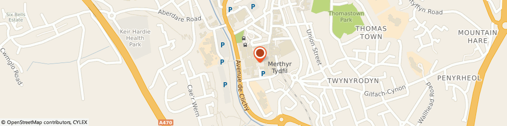 Route/map/directions to New Look, CF47 8EG Merthyr Tydfil, 9 Graham Way