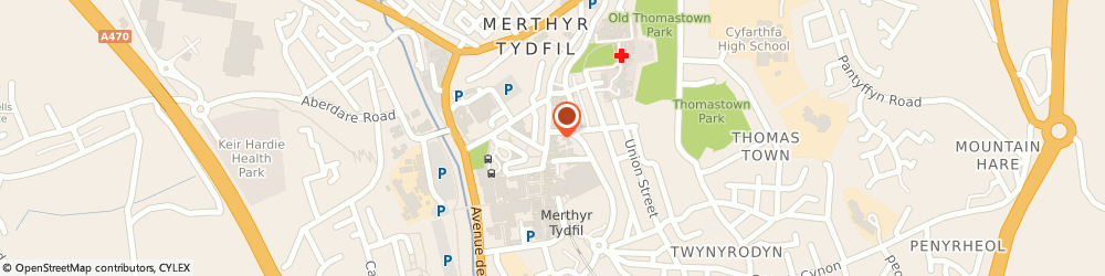 Route/map/directions to Lloyds Bank, CF47 8AD Merthyr Tydfil, 69 High Street