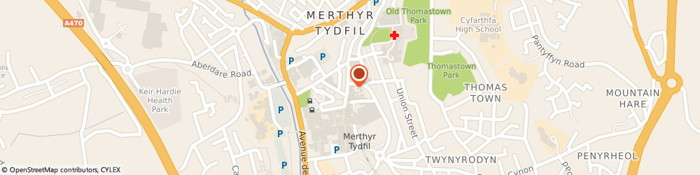 Route/map/directions to Lloyds Bank - Merthyr Tydfil, CF47 8AD Merthyr Tydfil, 69 High Street