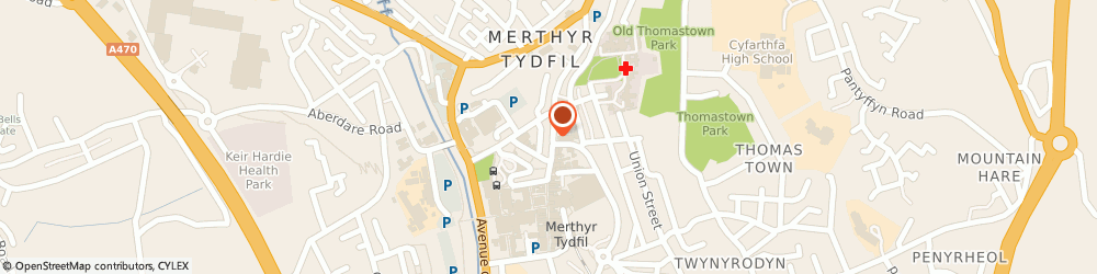 Route/map/directions to Merthyr And The Valleys Mind, CF47 8AP Merthyr Tydfil, 115 High Street