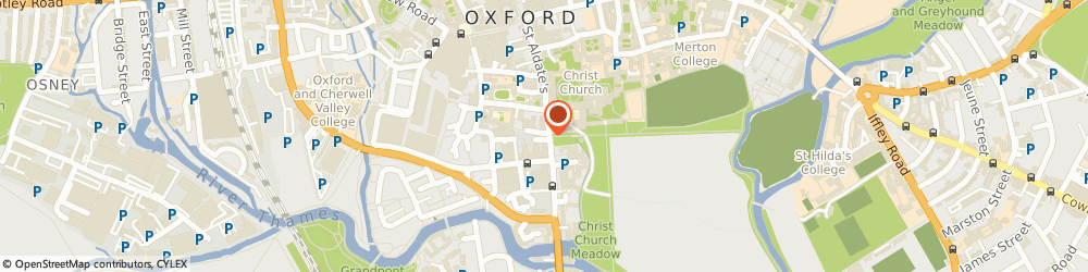 Route/map/directions to Cafe Loco, OX1 1RA Oxford, 85-87 St Aldate's