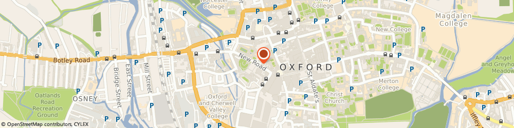 Route/map/directions to Oxford Innovation Ltd, OX1 1BY Oxford, New Road