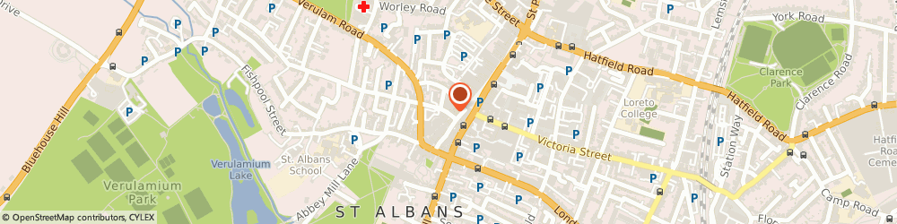 Route/map/directions to Albany Denture Centre, AL3 5EA St. Albans, 6 Upper Dagnall St