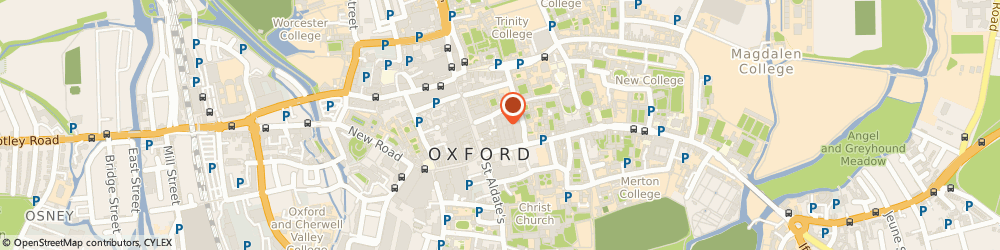 Route/map/directions to Timpson, OX1 3DX Oxford, 7 Avenue 1 The Covered Market