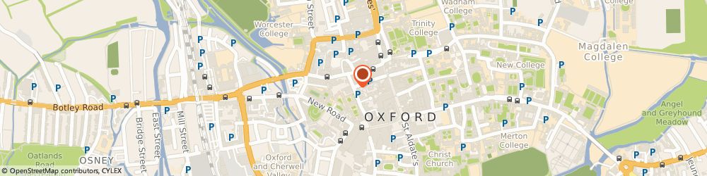 Route/map/directions to Marriotts, OX1 2DN Oxford, 50 NEW INN HALL STREET