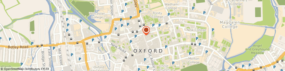 Route/map/directions to Timpson, OX1 3HA Oxford, 39 Cornmarket Street