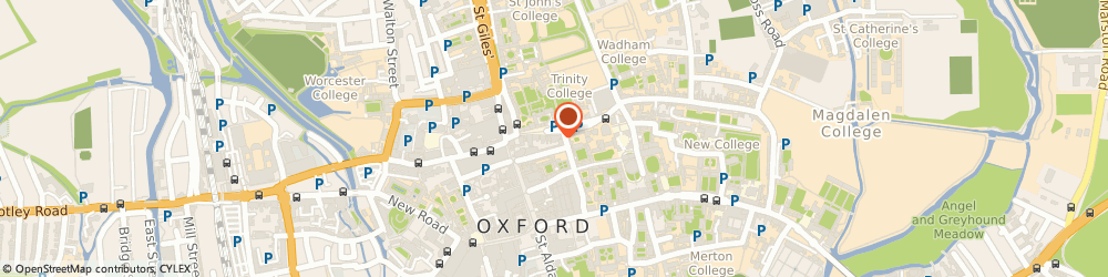 Route/map/directions to Broad Canvas, OX1 3AS Oxford, 20 Broad St