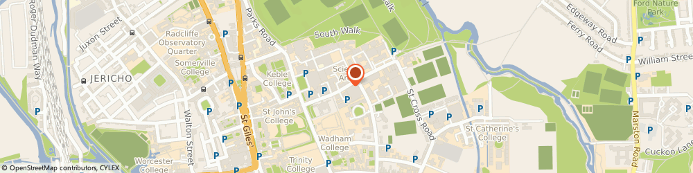 Route/map/directions to University Parks, OX1 3RF Oxford, S Parks Rd